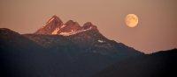 Moonrise Over Tenneke Inlet