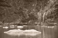 Iceberg and Waterfall