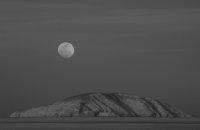 Moonrise and Island