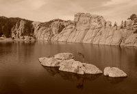 North Side of Sylvan Lake
