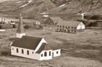 Aerial View of Grytviken