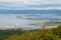 Aerial View of Ushuaia