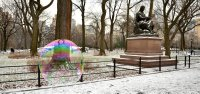 Bubble and Statue