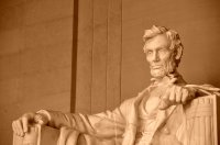 Lincoln in Marble