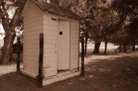 Roadside Outhouse
