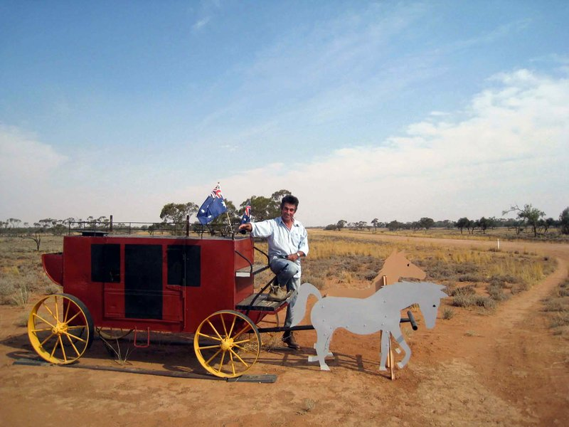 Outback Post box
