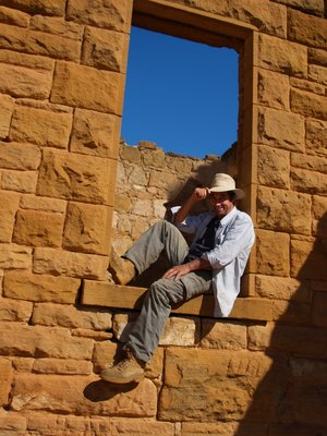Me at ghost town near Tibooburra