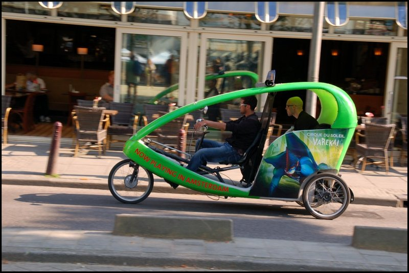 Pedal taxi