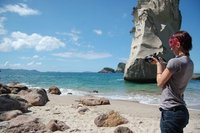 Shooting Cathedral Cove