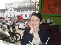 Seeking some respite from the Hanoi hustle and bustle