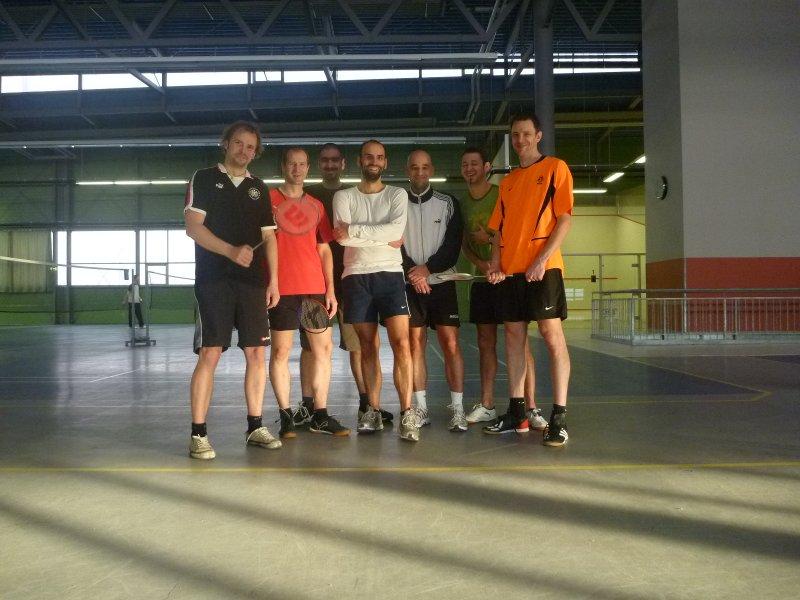 Badminton Goodbye Tournament 1