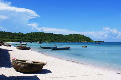 Khem Beach in Phu Quoc, Vietnam
