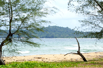 Dai Beach in Phu Quoc, Vietnam