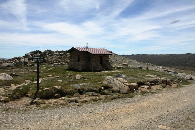 Seamans Hut on Mount Kosciuszko