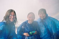 Kids and Dawn on the Maid of the Mist