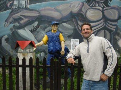 Seth at Ushuaia Post Office