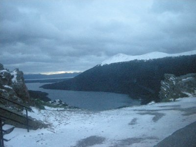 The road out of Ushuaia