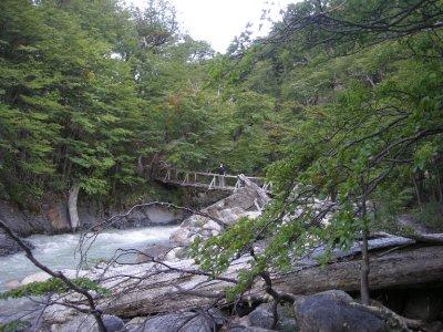 Aqua, glacial water - Torres del Paine Nat Park