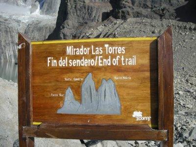 We made it! - Torres del Paine Nat Park
