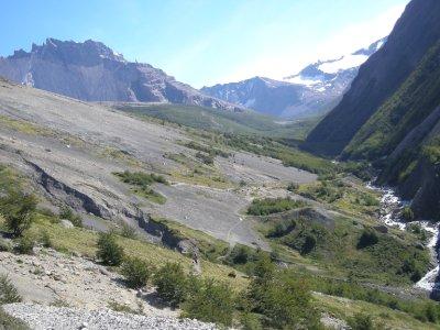 The Torres walk ahead - Torres del Paine Nat Park