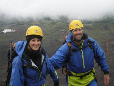 Up the Villarica Volcano