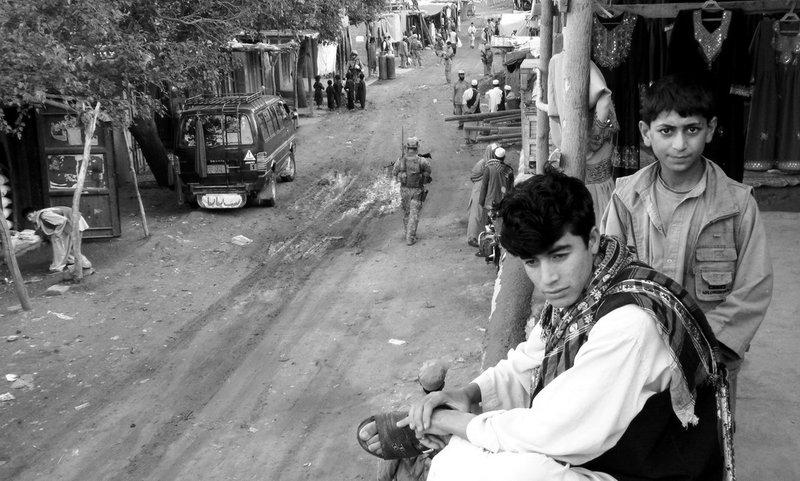 Kids in the Bazaar