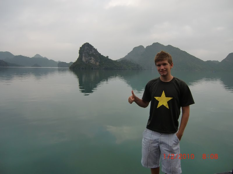Halong Bay i morgondis