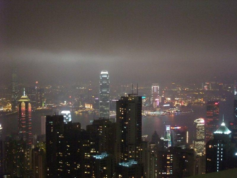 View of Hong Kong's Skyline
