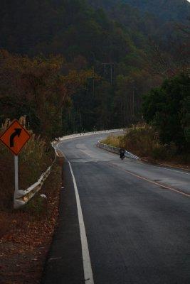 On the way 'Mae Hong Son Loop'