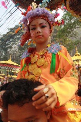 Poy Sang Long Festival, Mae Hong Son