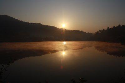 Winter Morning at Mae Aw Lake