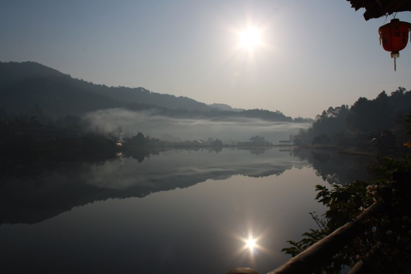 Mae Aw Chinese village