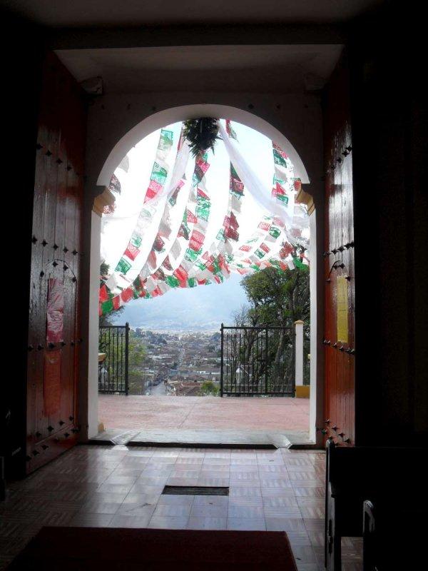 San Cristobal de las Casas Inside Church