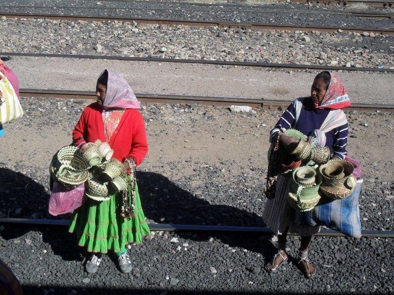 Indian ladies, Creel