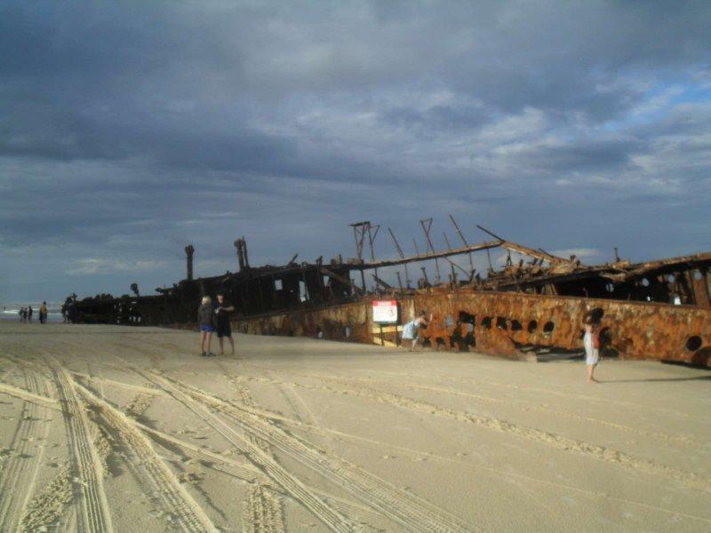 Maheno Ship Wreck 9