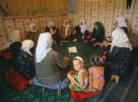 Traditional dzikr prayer