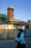 The old mosque in Duisi Village in Pankisi