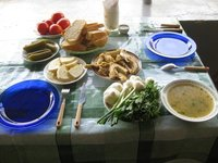 Testing of traditional Kist dishes