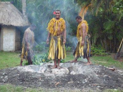 Fijian firewalkers