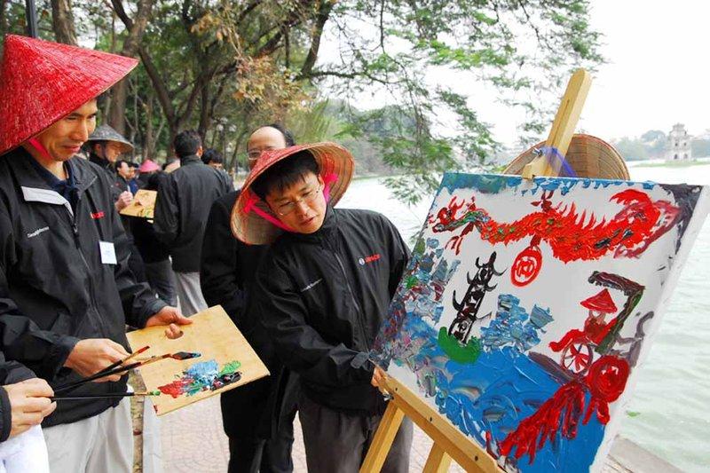 Treasure Hunt in Hanoi Vietnam