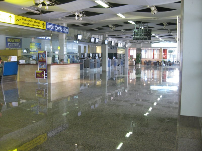 The quietest airport in the world