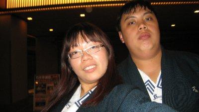 Both of us in Yukata