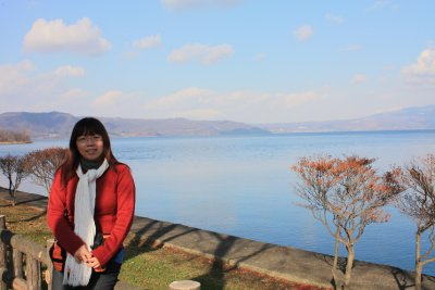Shoots on Lake Toya (洞爺湖)