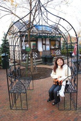 A big bird cage? Hahaha