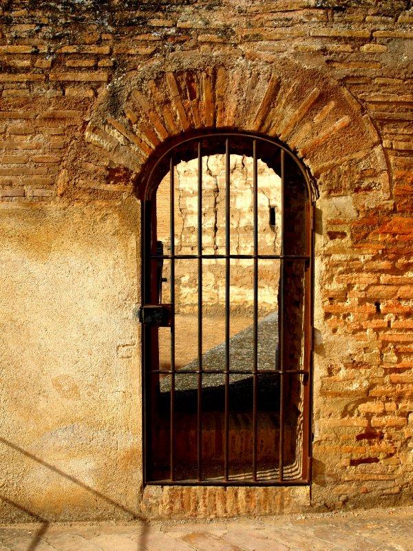 Door at the Alcazaba - Alhambra