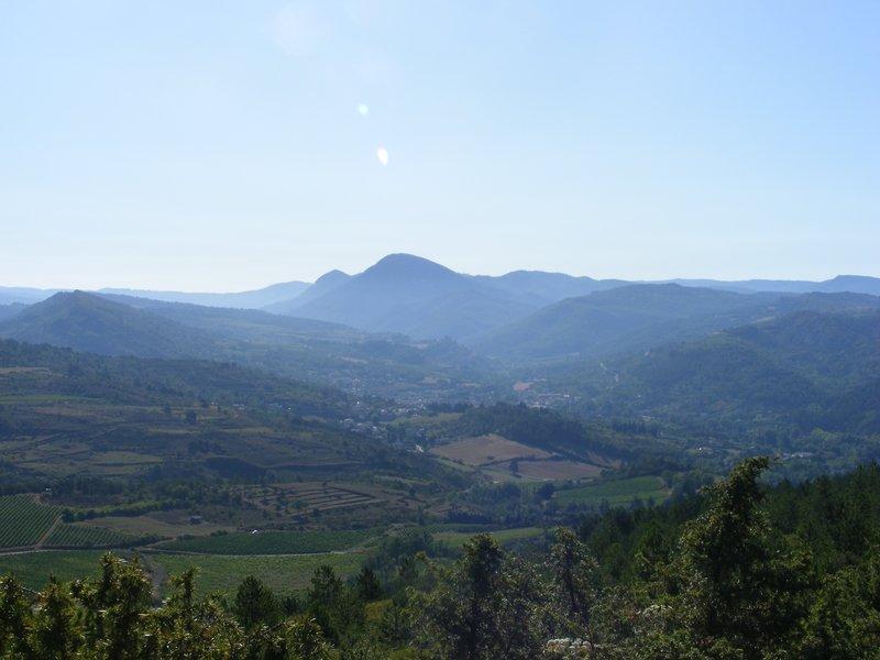 In the hills above Esperaza