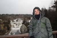 Me at Ausable Chasm
