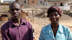 Stephen Amoah and Nancy Ayesua Otu