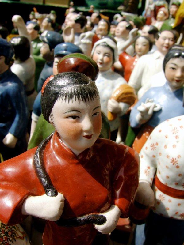 Replica Cultural Revolution Era Figurines