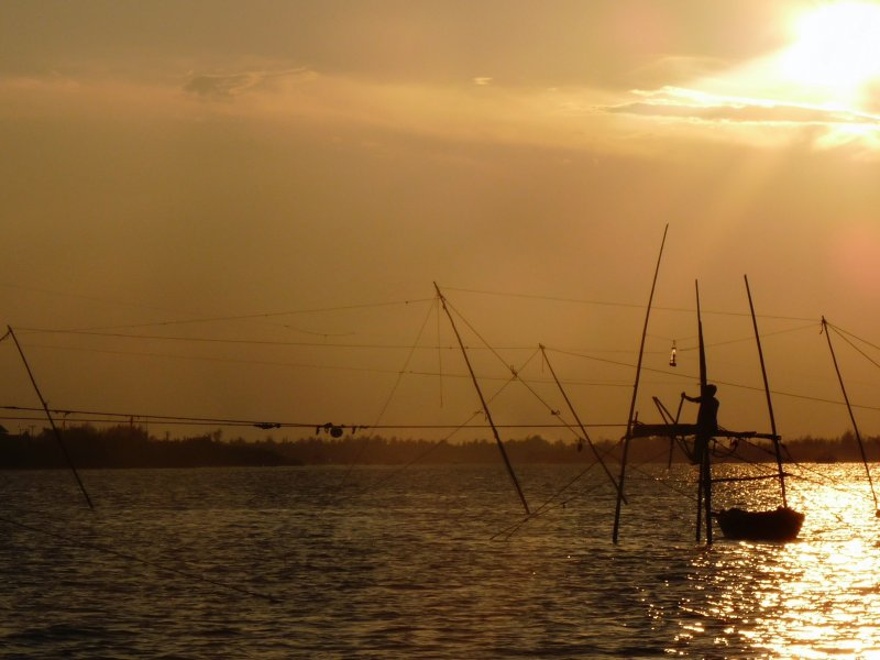 Hoi An River Sunset 1